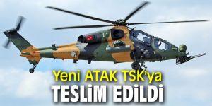 T129 Atak helikopteri TSK'ya teslim edildi!
