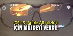 Apple AR gözlükler için müjde
