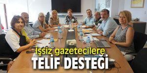İşsiz ve serbest çalışan gazetecilere destek!