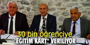 """İzmir'de """"Eğitim Kart"""" projesini hayata geçti!"""