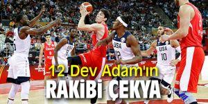 A Milli Erkek Basketbol Takımı, Çekya ile karşılaşacak!