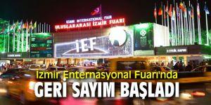 İzmir Enternasyonal Fuarı'nda geri sayım başladı