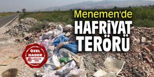 Menemen'de hafriyat terörü
