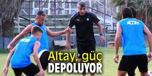 Altay güç depoluyor