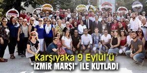 Karşıyaka'da coşkulu 9 Eylül kutlaması!