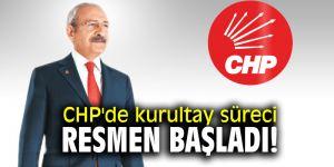 CHP'de kurultay süreci resmen başladı!