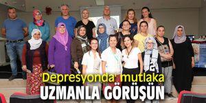 'Depresyon ve İntiharla Mücadele' semineri Bayraklı'da düzenlendi!