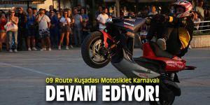 Kuşadası Motosiklet Karnavalı sürüyor!