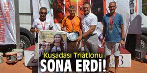 Kuşadası Triatlonu'na 500 sporcu katıldı!