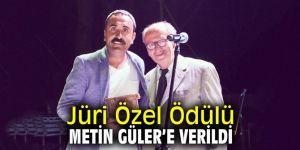 Jüri Özel Ödülü Metin Güler'e verildi
