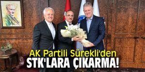 AK Partili Sürekli'den Sivil Toplum ve Meslek Kuruluşlarına ziyaret!