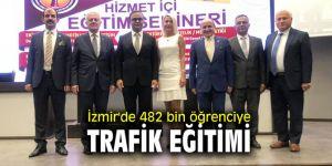 İzmir'de 482 bin öğrenciye trafik eğitimi