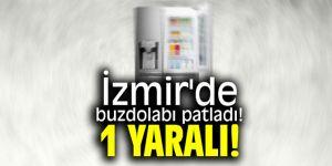 SON DAKİKA ...İzmir'de buzdolabı patladı