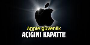 Apple'da iPhone'lar için ciddi güvenlik açığını kapattı