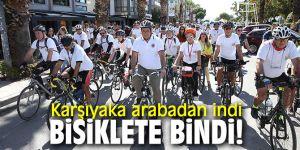 'Otomobilsiz Kent Günü' etkinlikleri Karşıyaka'da düzenlendi!