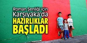 Roman Şenliği için Karşıyaka'da hazırlıklar başladı