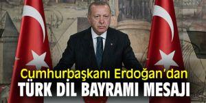 Cumhurbaşkanı Erdoğan'dan 26 Eylül Türk Dil Bayramı mesajı!