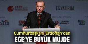 Cumhurbaşkanı Erdoğan'dan Ege Üniversitesi'ne büyük müjde