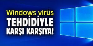 Windows'ta kullanıcıları tehdit eden hata