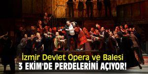 """İzmir Devlet Opera ve Balesi, """"La Traviata"""" operası ile perdelerini açıyor!"""