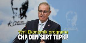 Yeni Ekonomik programa CHP'den sert tepki!
