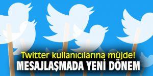 Twitter kullanıcılarına müjde! Mesajlaşmada yeni dönem