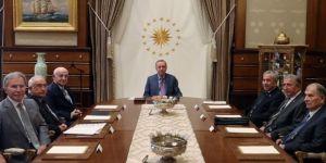 Cumhurbaşkanlığı Külliyesi'ndeki kritik toplantı başladı!