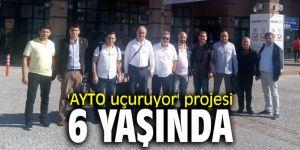 'AYTO uçuruyor' projesi 6 yaşında
