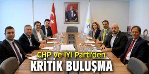 Cumhuriyet Halk Partisi ve İYİ Parti'den kritik buluşma