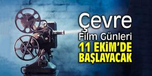 """Çevre Film Günleri"""" 11 Ekim'de başlayacak"""