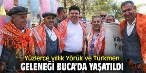 Yörük Türkmen Şöleni, renkli görüntülere sahne oldu!
