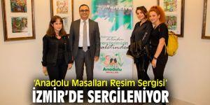 'Anadolu Masalları Resim Sergisi' açıldı!
