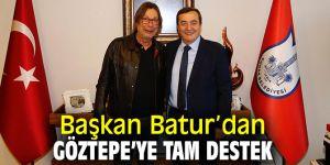 Göztepe'den Başkan Batur'a ziyaret!