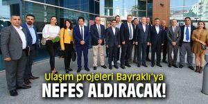 Ulaşım projeleri Bayraklı'ya nefes aldıracak!