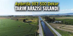 DSİ açıkladı! Aydın'da 987.500 Dekar Tarım Arazisi Sulandı