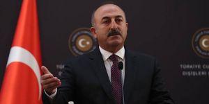 Bakan Çavuşoğlu'ndan flaş yaptırım açıklaması! 'Gerekli adımları atacağız'