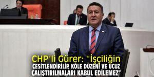 CHP'li Gürer, Kamu Çalışanları Platformu ile buluştu