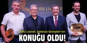 Zülfü Livaneli, Edebiyat Söyleşileri'nin konuğu oldu!