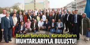 Başkan Selvitopu, Karabağlar'ın muhtarlarıyla buluştu!