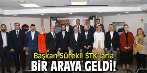 AK Partili Sürekli'den STK'lara ziyaret!