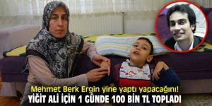Mehmet Berk Ergin, son kampanyasında yine yaptı yapacağını!