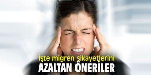 Uzmanı açıkladı! İşte migren şikayetlerini azaltan öneriler
