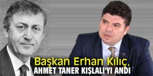 Başkan Kılıç, Ahmet Taner Kışlalı'yı andı