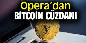 Opera'dan Bitcoin cüzdanı
