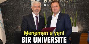 Menemen, Yabancı Diller Meslek Yüksekokulu'na ev sahipliği yapacak!