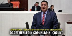 CHP'li Gürer'den KYK çıkışı!