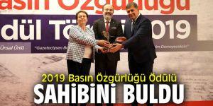Basın Özgürlüğü Ödülü'nün sahibi Gazeteci Ünsal Ünlü oldu!