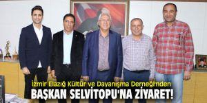 İzmir Elazığ Kültür ve Dayanışma Derneği'nden Başkan Selvitopu'na ziyaret!
