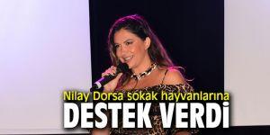 Nilay Dorsa sokak hayvanlarına destek verdi