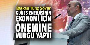 Başkan Soyer'den güneş enerjisi açıklaması!